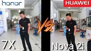 HONOR 7X vs HUAWEI NOVA 2i - Bokeh Huawei Kalah Telak !!