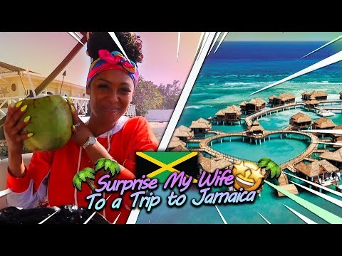 Surprised My Wife With a Vacation Trip To Jamaica! thumbnail