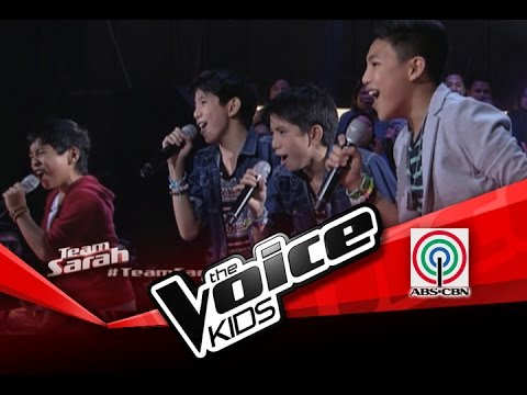 "The Voice Kids Philippines Battles ""What Makes You Beuatiful"" by Jm and Jc, Sam, and Darren"