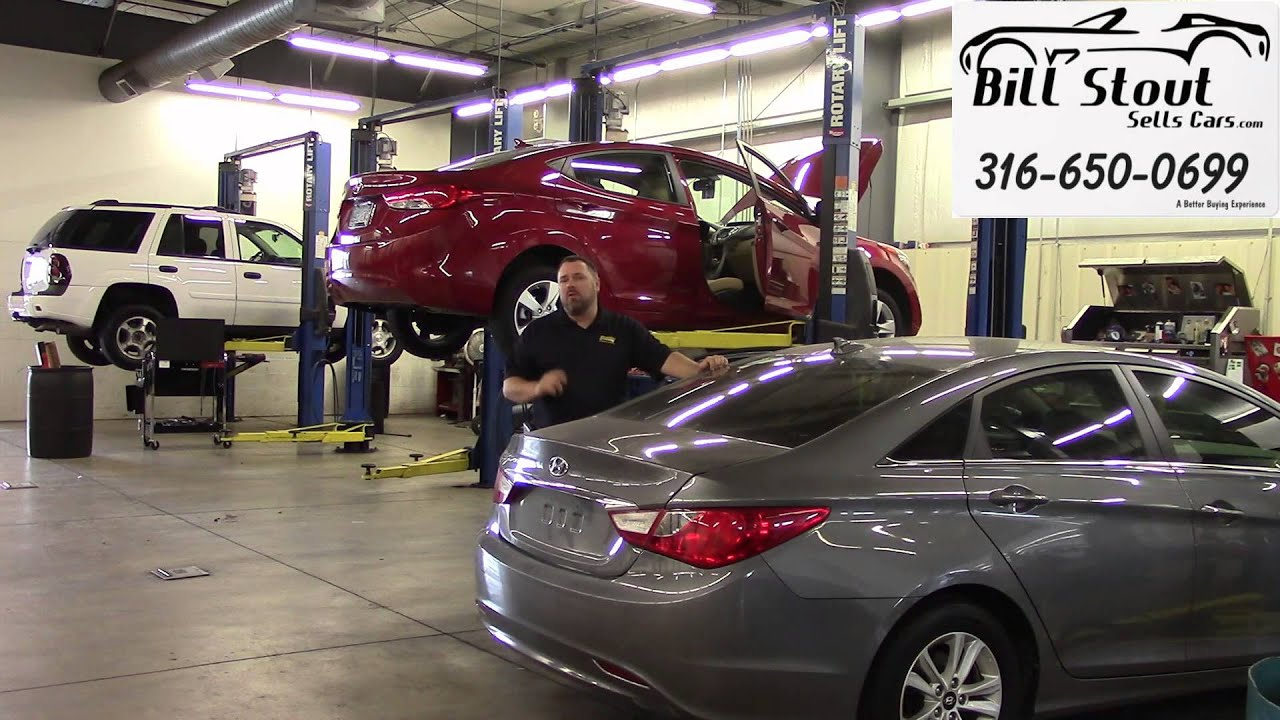 Save money on Service -- Bill Stout at Scholfield Hyundai ...