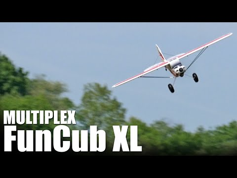 Multiplex FunCub XL - REVIEW   Flite Test