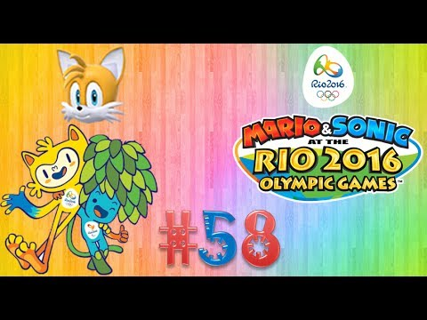 """Mario and Sonic at the Rio 2016 Olympic Games (Wii U) Part58 """"Facing Tails in Table Tennis Tour."""""""