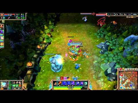 League of Legends - Rumble in da Jungle - Full Game Commentary