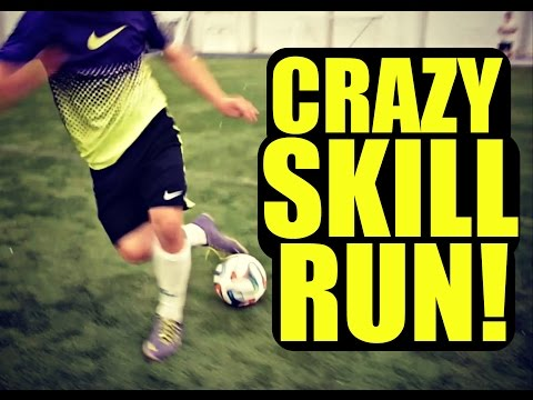 Crazy Football Skill Run - Skilltwins Ft. F2freestylers video