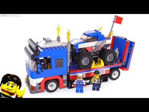 LEGO Creator Mobile Stunt Show 3-in-1-review! 31085