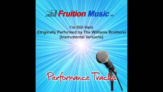 I 39 M Still Here Originally Performed By The Williams Brothers 72bpm Percussion Version Sample