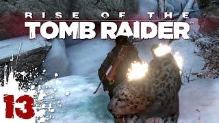 FLAMING JAGUAR ATTACK! - Rise of the Tomb Raider - 13