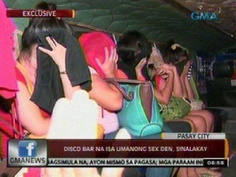24 Oras: Disco bar sa Pasay City na isa umanong sex den, sinalakay