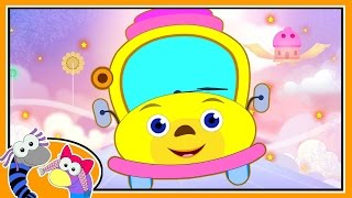 The Wheels On The Bus Go Round And Round | Nursery Rhymes for Children By Silly Sox