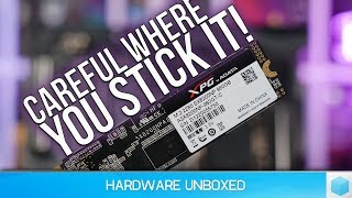 Intel Z370 vs. AMD X470 Storage Performance, Not All M.2 Slots Are Equal