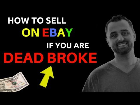 How To Get Started Selling on Ebay With Very Little Money