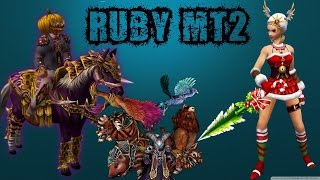Ruby Mt2 |  Wslik Pvp Server - 115 Level Zırhlar - Kostüm, Pet, Kemer  | TANITIM ᴴᴰ