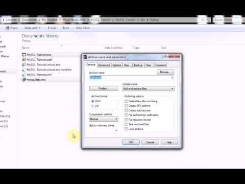 Visual Basic 2008/2010 : How to implement a database (Part 4 : Packaging)
