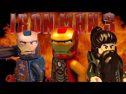 LEGO IRON MAN 3 SUPER BOWL: EXTENDED TRAILER