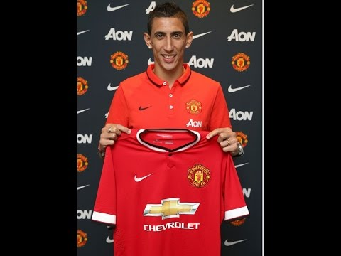 DEAL DONE! Angel di Maria OFFICIALLY a Man United Player!!