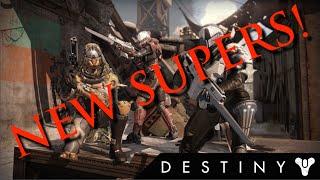 Destiny dlc leak new subclasses new supers void hunter solar titan
