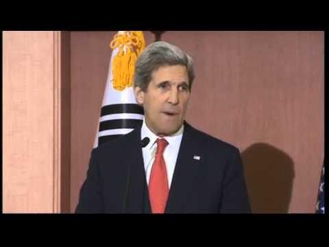 John Kerry: North Korea rhetoric is 'simply unacceptable'