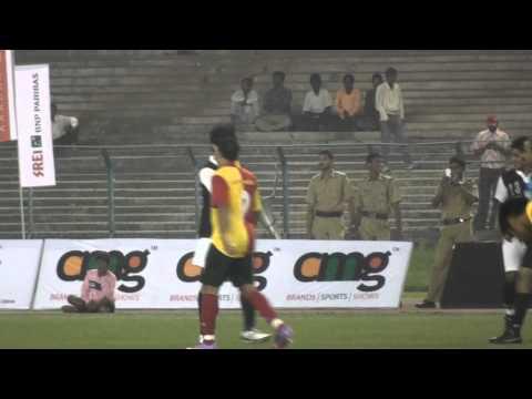 Saurav Gangully Playing Football, Mohammedan V/s East Bengal
