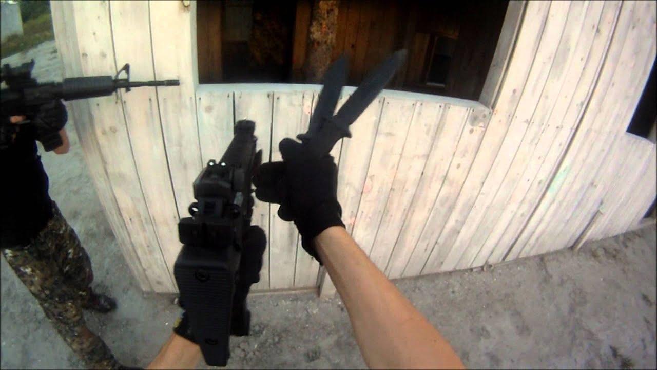 Airsoft Knife Kill New Kwa Mp7 Game Tornado Kill M4