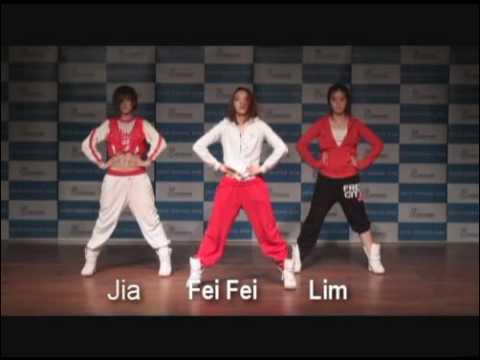 Chinese Wonder Girls - Boom Boom Pow Routine video