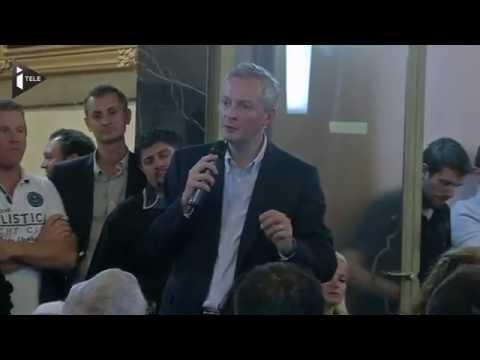 Bruno Le Maire à l'ascension de l'UMP