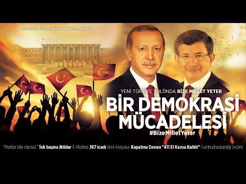 Yeni Türkiye Yolunda #BizeMilletYeter