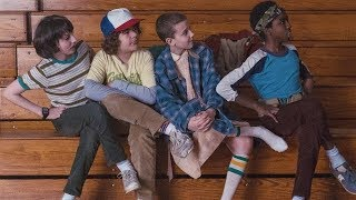 Stranger Things Cast Funny Moments Part 4
