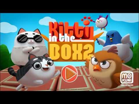 Котик в Коробке 2 - #1 Обзор новой игры. Игровое видео для детей.