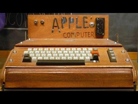 Apple Generation 1 Computer $200k Apple 1 Computer Thrown