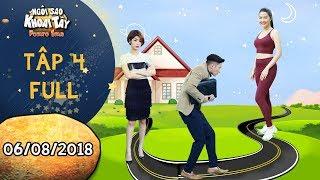 """Ngôi sao khoai tây   tập 4 full: Huy Khánh """"đau tim"""" khi trốn Đàm Phương Linh đi hẹn hò với gái xinh"""