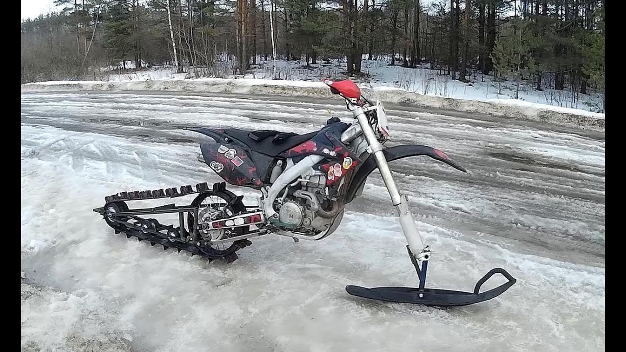 Скутер снегоход своими руками фото и инструкция как