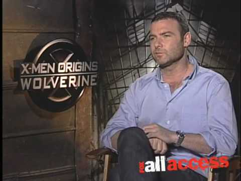 Liev Schreiber Shows Fox All Access his  Sabretooth