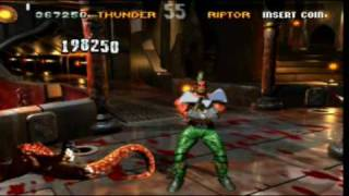 Killer Instinct arcade Gameplay with Chief Thunder