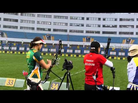 Archery Journal: Matchplay Shanghai 2013 (practice)