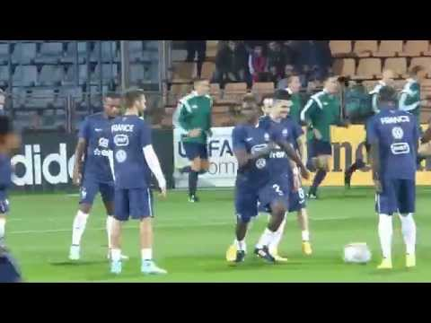 Karim Benzema, Mathieu Valbuena, Paul Pogba,  Antoine Griezmann