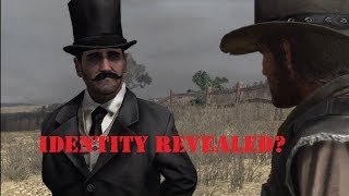 Who is the strange man in Red Dead Redemption? Identity Revealed?  ( Theories, Explanation )