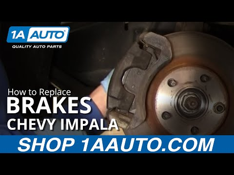 How To Install Repair Replace Front Disc Brakes Chevy Impala 00-05 1AAuto.com