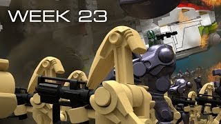 Building Kashyyyk in LEGO - Week 23: Time-Lapse