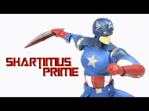 Figma Captain America The Avengers Movie Max Factory Action Figure Review