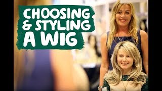 Tutorial: Choosing and Styling a Wig for Hair Loss