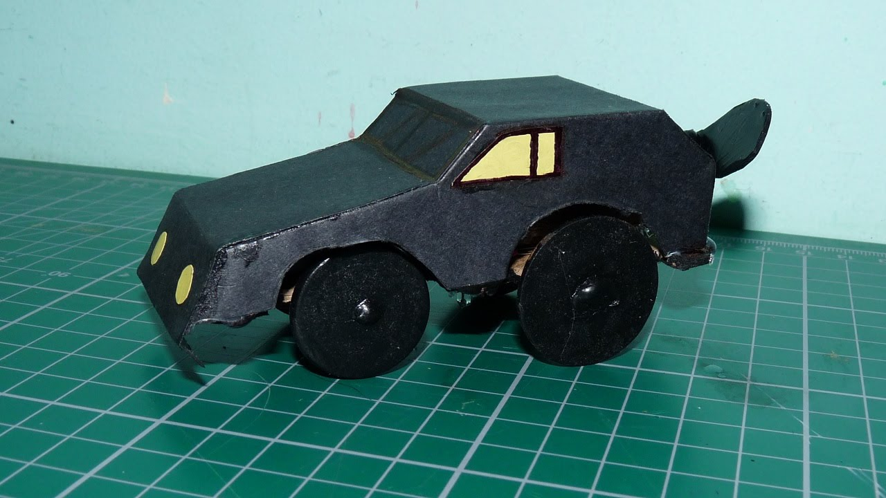 how to make toy car at home