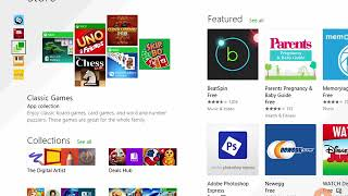 Windows Store Apps and Navigation Features in windows 8.1