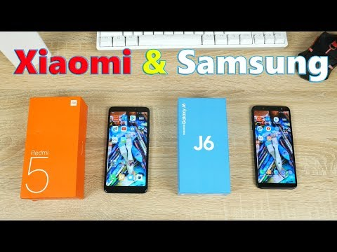 Кто круче Xiaomi или Samsung? Сравнение Xiaomi Redmi 5 и Samsung Galaxy J6