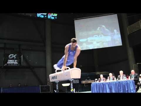 Danell Leyva - Pommel Horse - 2012 Winter Cup Finals