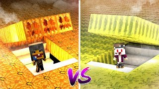 HALLOWEEN KÜRBIS BASE VS HALLOWEEN MELONEN BASE IN MINECRAFT!