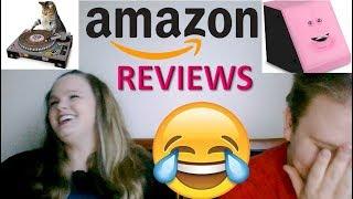 Reading HILARIOUS Amazon Reviews!