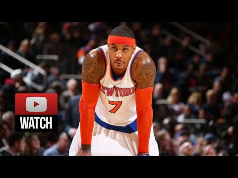 Carmelo Anthony Full Highlights vs Hornets (2014.11.02) - 28 Pts, Burial time!
