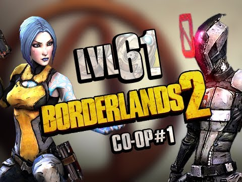 Borderlands 2: Level 61 Grind - Co-Op #1 (XBox 360 Split Screen)
