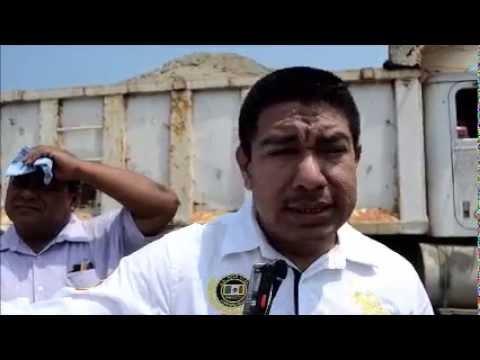 Grupo Ortiz y la Coalición de Transportistas de Coatzacoalcos