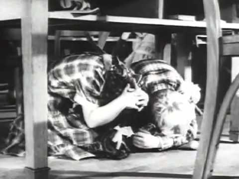 Duck and Cover (1951) Bert the Turtle Nuclear Defence Film